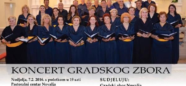 U nedjelju koncert Gradskog zbora Novalja
