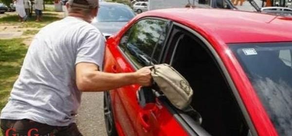 Iz nezaključanog auta otuđio torbu s novčanikom i osobnim dokumentima