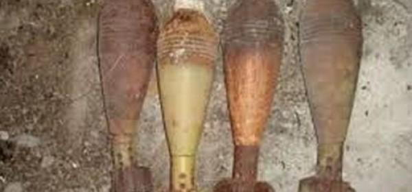 Pronađene 4 minobacačke mine iz Domovinskog rata