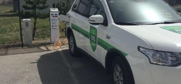 JU NP Sjeverni Velebit postavila punionicu za električna motorna vozila u Krasnu