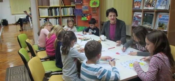 Jučer je u Gradskoj knjižnici Senj održana posljednja iz ciklusa knjižničnih blagdanskih radionica