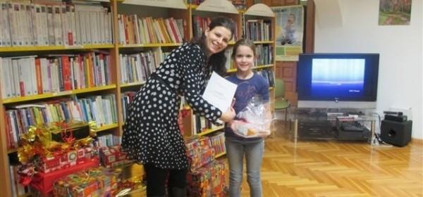 Dodjele nagrada najčitačima Gradske knjižnice Senj za 2015. godinu