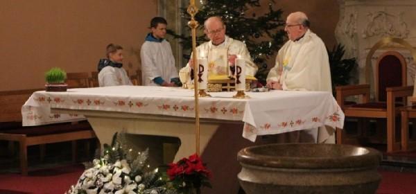 Misa zahvalnica na Silvestrovo
