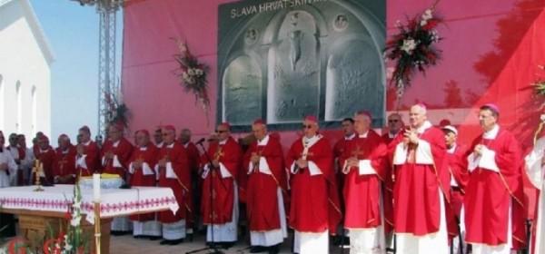 Na Udbini jučer proslavljeni Hrvatski mučenici