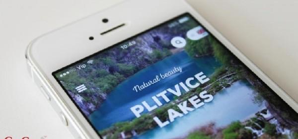 Mobilna aplikacija Plitvička jezera