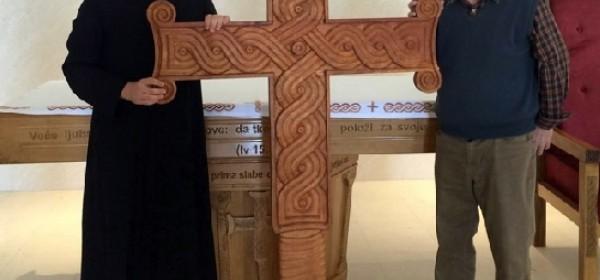 CHM darovana replikom Višeslavova križa