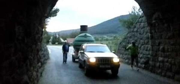 Ograničenje prometa kroz Vrhovine