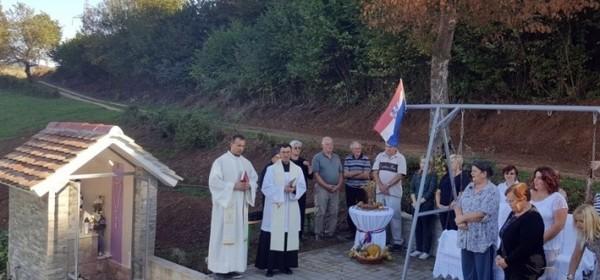 Nova kapelica u Gorinjemu selu u Konpolju