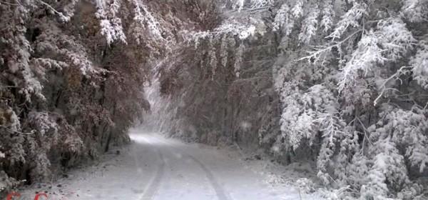 Prvi ovojesenji snijeg na Krasnu