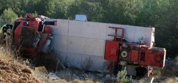 Vozač teretnjaka teško stradao