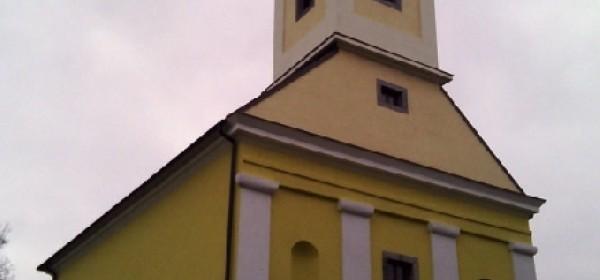 Postavljena fasada na crkvu u Boričevcu