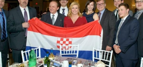 """Predsjednica Republike i """"ustaška zastava"""""""