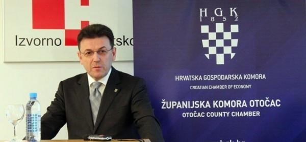 Burilović u Otočcu o trendovima hrvatskoga gospodarstva i rastu BDP-a