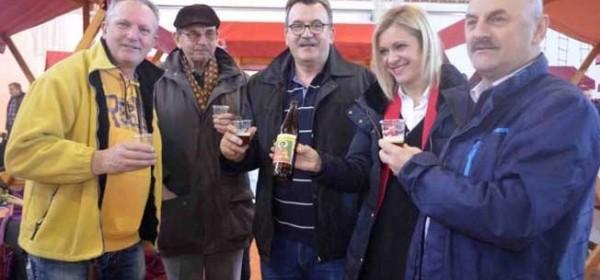 Za otočki Božićni sajam - posebno pivo