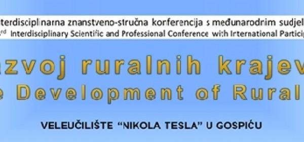 3. interdisciplinarna znanstveno-stručna konferencija s međunarodnim sudjelovanjem