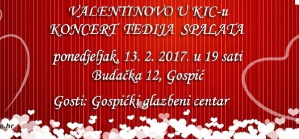 Tedi Spalato za Valentinovo u KIC-u