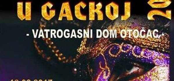 Mačkare u Gackoj - sutra večer