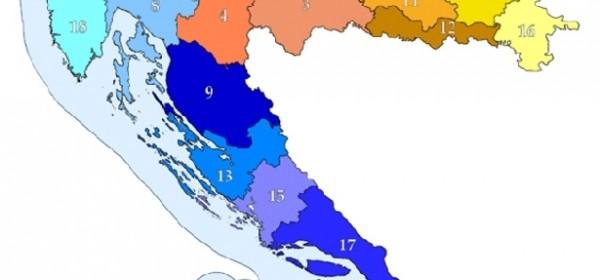 BDP po hrvatskim županijama