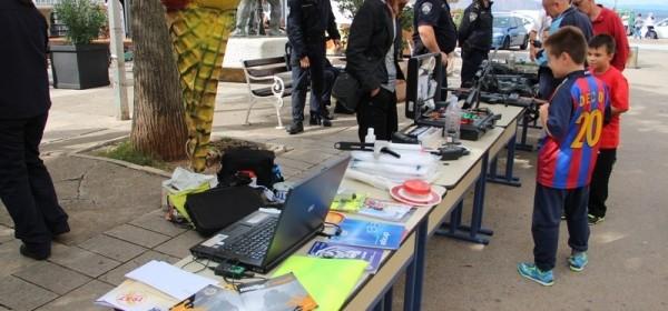Povodom Dana policije - prezentacija opreme i pokazna vježba