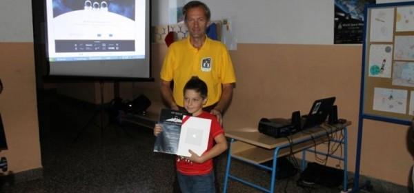 Pobjednik natječaja Odysseus II u kategoriji Junior Skywalkers je Ivan Rubčić iz Lešća