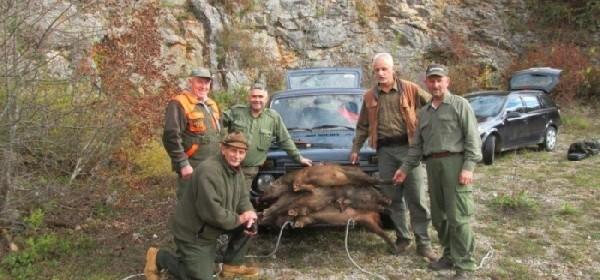 """Lovačka udruga """"Ravna Gora"""" iz Sinca uspješno započela zimsku lovnu sezonu"""