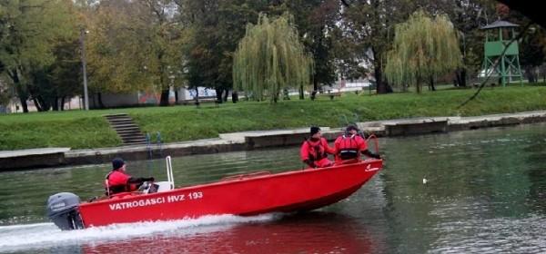 Nabavljen spasilački čamac za ličko-senjske vatrogasce