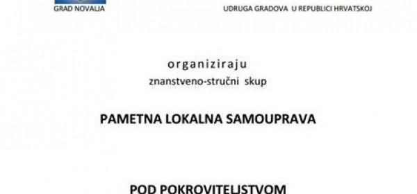 "Znanstveno stručni skup ""Pametna lokalna samouprava"" u Novalji"