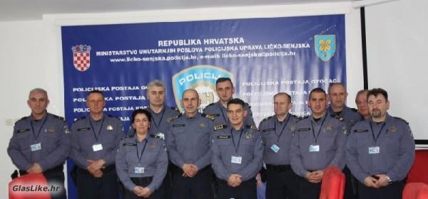Podrška radu PU ličko-senjske - glavni ravnatelj policije Srdarević u Gospiću