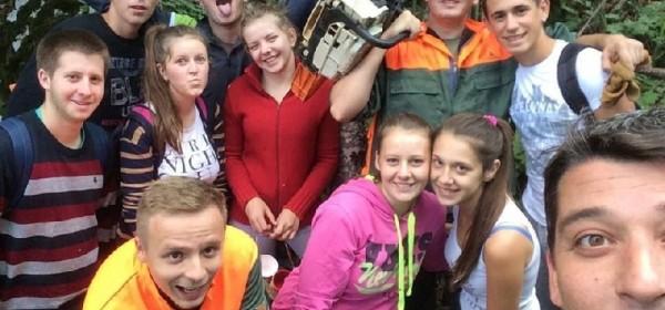 Učenici Đačkog doma Fortica održavaju planinarske putove