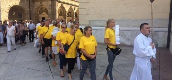 Završnica hodočašća u Mariju Bistricu