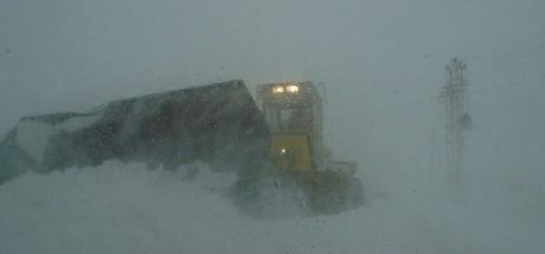 Snježna oluja na području Brinja