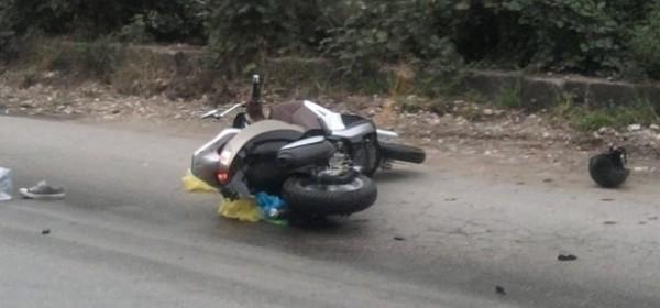 Teško ozlijeđena motociklistica u Stinici
