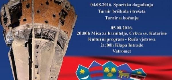 "Program proslave VRA ""Oluja"" u Novalji"