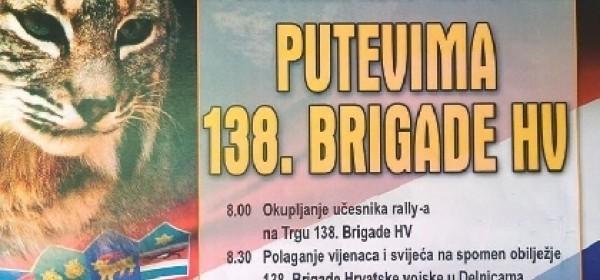"10.Oldtimer auto-moto rally u Brinju ""Putevima 138.brigade HV"""