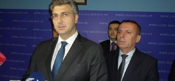 Premijer Plenković u Ličko-senjskoj županiji