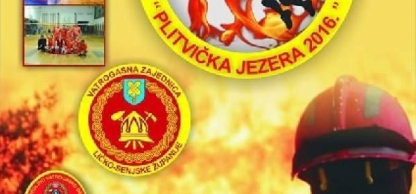 """Sportsko natjecanje vatrogasaca """"Plitvička jezera 2016"""""""