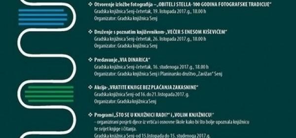 Mjesec hrvatske knjige 2017.-Gradska knjižnica Senj