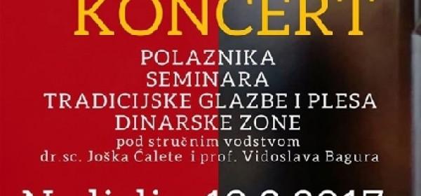 Završni koncert u GPOU u nedjelju večer