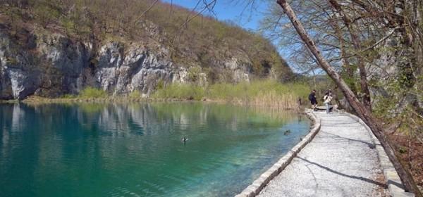 Uređenje staza uz Donja jezera