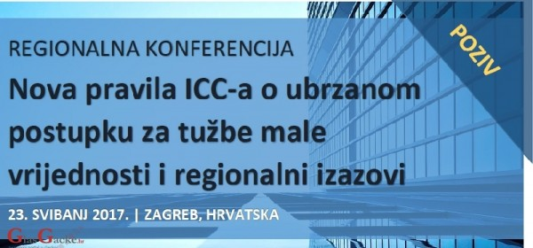 Regionalna konferencija o novima pravilima ICC-a