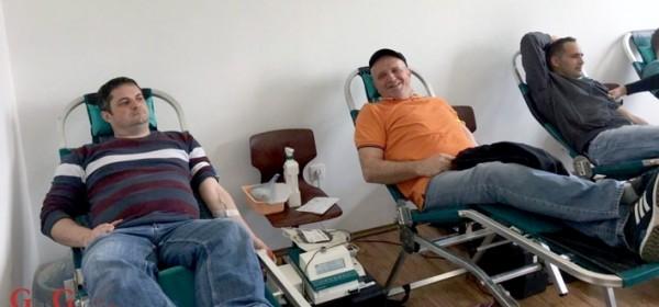 Tradicionalno velik odaziv na darivanje krvi