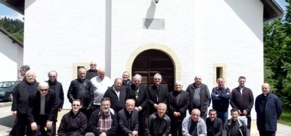 Svećeničko hodočašće na Krasno
