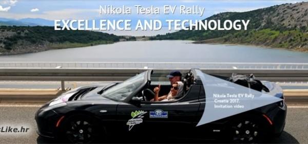 Nikola Tesla EV Rally Croatia 2017 - danas u podne u Smiljanu