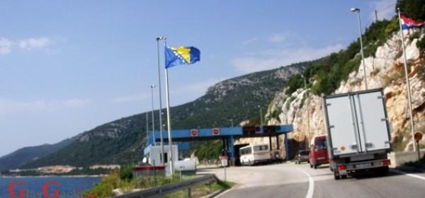 Oprez pri prijevozu robe vrednije od 15.000 eura preko Neuma