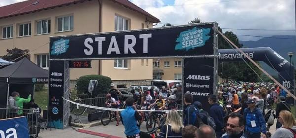 Nekoliko motiva sa starta Adria Bike Maratona Plitvice