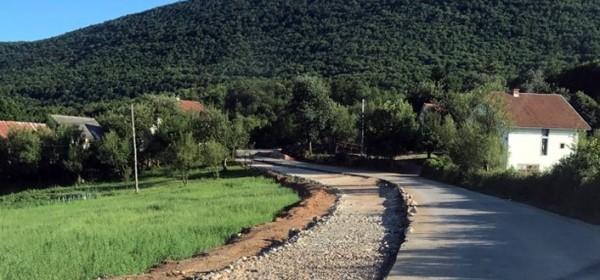 Rekonstrukcija ceste na Kuterevskoj kosi