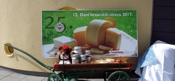 12. Dani hrvatskih sireva i 25. obljetnica Sirane Runolist