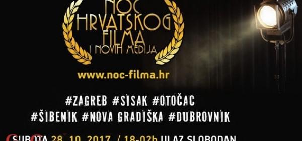 Noć hrvatskoga filma po prvi put u Otočcu