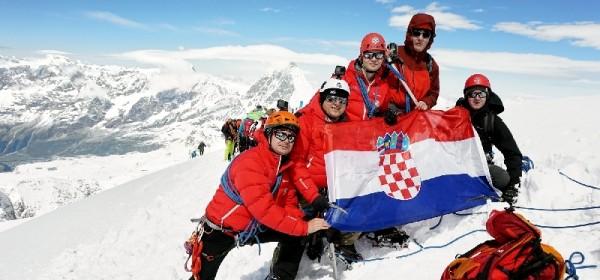 Pustolovina za pamćenje: hrvatski tim penjača osvojio vrh Breithorn (4164 m.n.m.)