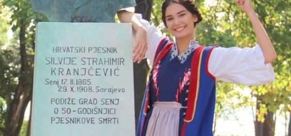 Senjkinja Tea Mlinarić finalistica Miss Hrvatske za Miss Svijeta